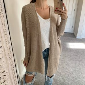 🆕Forever 21 Taupe Cardigan